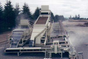Le site d'essais à Eugene, Oregon